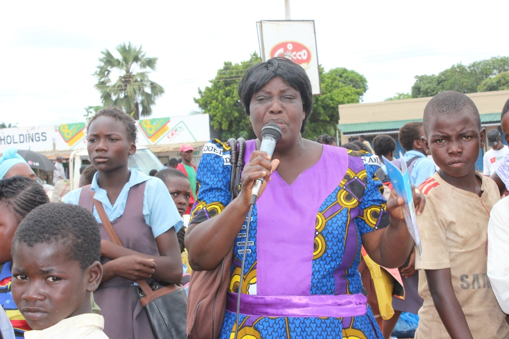 Road show sensitisation on the Anti-GBV Act
