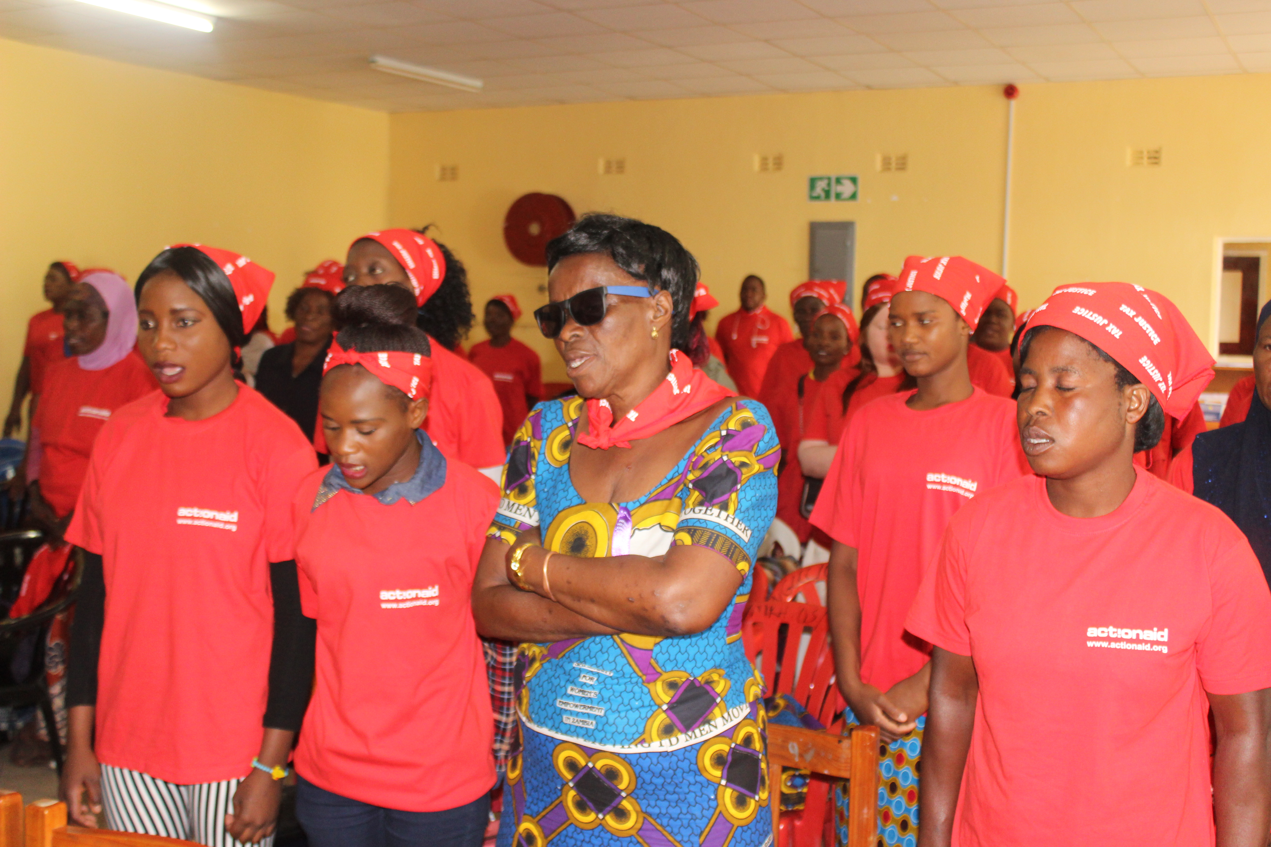 ActionAid Holds a Round Table With Women on Tax