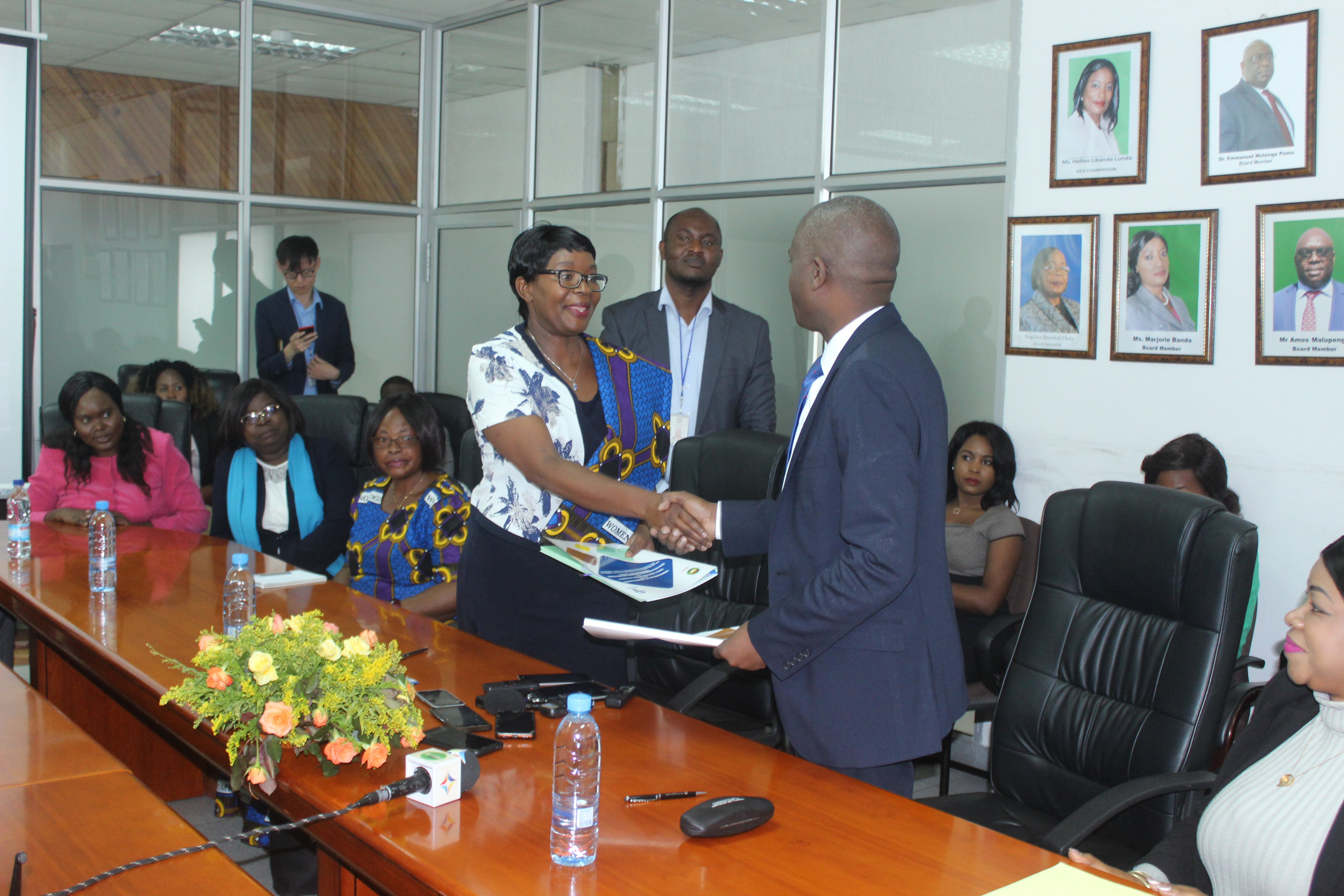 NGOCC and REA Sign An MoU To Empower Women