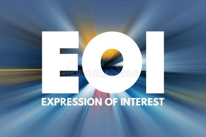 Expression of Interest - Household Approach Training of Trainers
