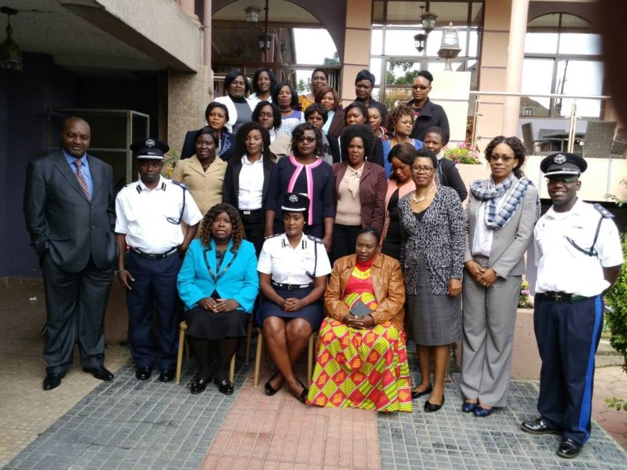 Zambia Police Service in Gender Awareness Training