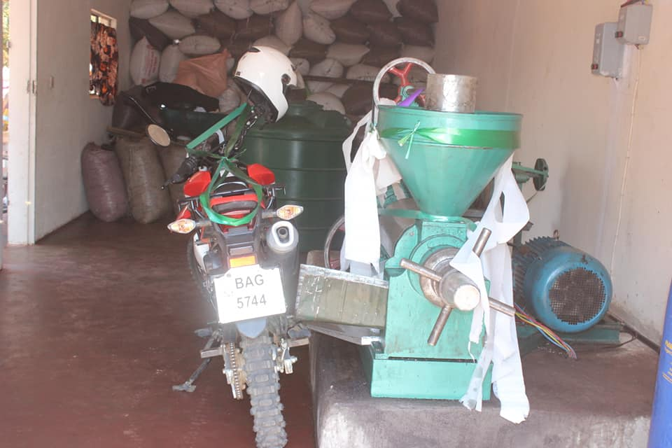 MONZE DISTRICT WOMEN DEVELOPMENT ASSOCIATION LAUNCHES OIL EXPELLER AND A MOTORBIKE.
